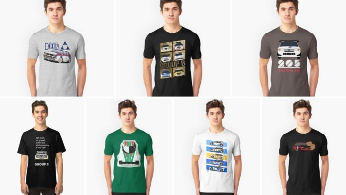cool rally t-shirts you should buy