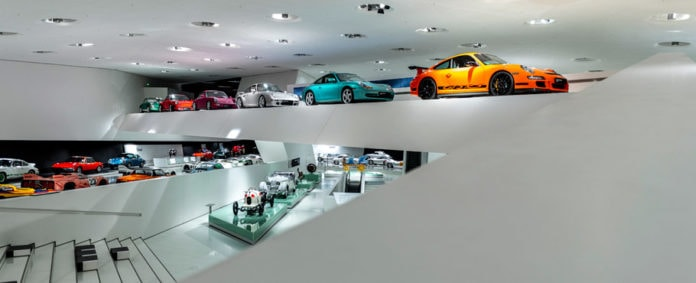 virtually tour the world's best automotive museums