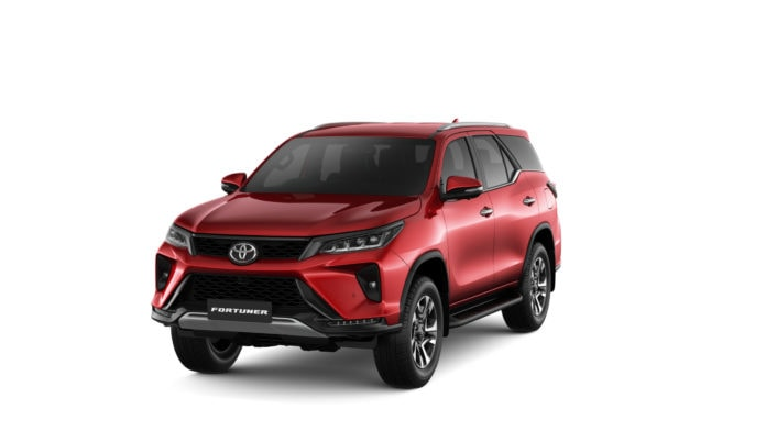 Toyota Fortuner here in August