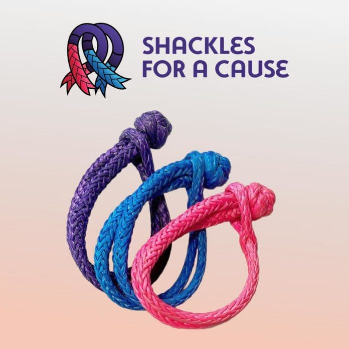 Shackles for a cause Saber Offroad