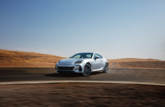 All-new Subaru BRZ breaks cover