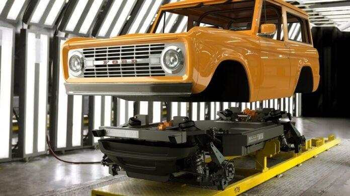 Zero Labs modular EV platform for classic cars