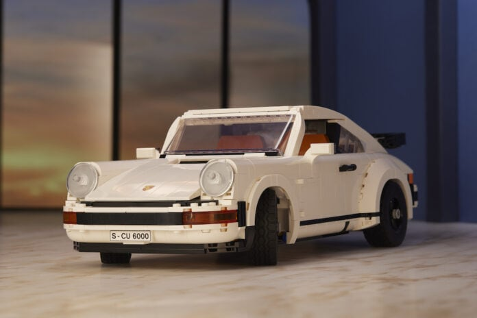 Lego Porsche 911 Turbo and Targa set